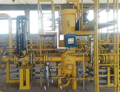 Supply of Equipment for the Natural Gas Field